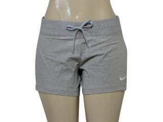 Short Feminino Nike 615055-066 Jersey Cinza Claro - Tamanho Médio