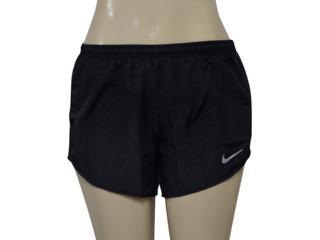 Short Feminino Nike 831281-010 nk Dry Tempo  Preto - Tamanho Médio