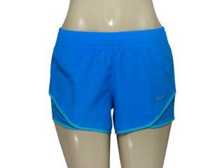 Short Feminino Nike 686024-435 Racer Woven  Azul - Tamanho Médio