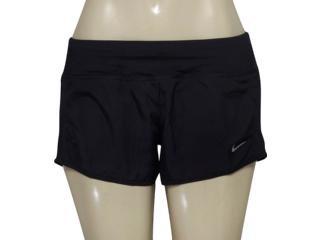 Short Feminino Nike 719558-010 Dry Running  Preto - Tamanho Médio