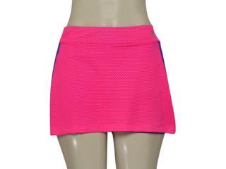 Short Saia Feminina Adidas Az1431 Vida Wkt w Pink/azul - Tamanho Médio