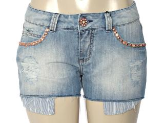 Short Feminino y Exx 18241 Jeans - Tamanho Médio
