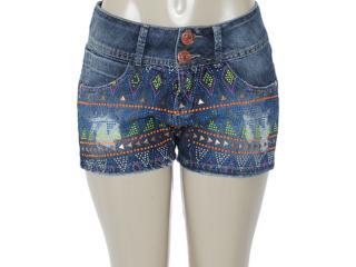 Short Feminino y Exx 20239 Jeans - Tamanho Médio