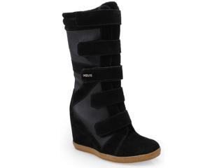 Sneaker Feminino Quiz 69926 Preto - Tamanho Médio