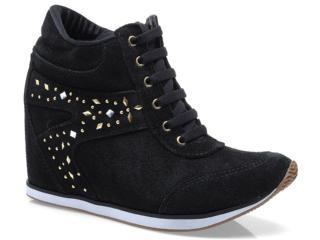 Sneaker Feminino Via Marte 13-17201 Preto - Tamanho Médio