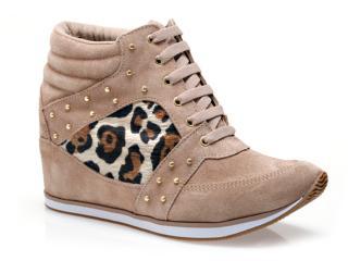 Sneaker Feminino Via Marte 13-17205 Nude - Tamanho Médio
