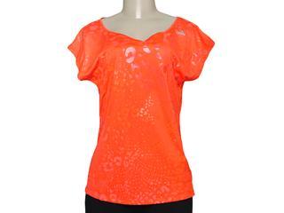 T-shirt Feminino Adidas M64089 Cct Grafica ii Laranja - Tamanho Médio