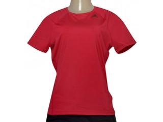 T-shirt Feminino Adidas Bq5821 D2m Tee Solid Pink - Tamanho Médio