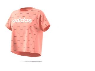 T-shirt Feminino Adidas Ei6245 w Core Fav t Pêssego - Tamanho Médio