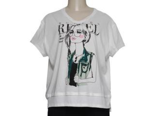 T-shirt Feminino Alto Giro 48706 Creme - Tamanho Médio