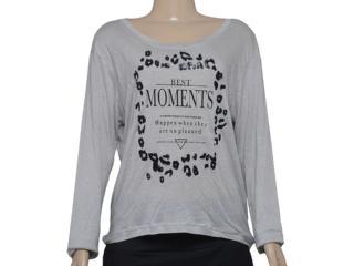 T-shirt Feminino Alto Giro 58767 Cinza - Tamanho Médio