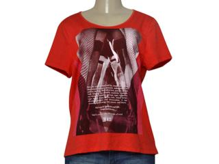 T-shirt Feminino be Red 341200001 Vermelho - Tamanho Médio
