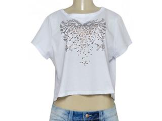 T-shirt Feminino Cavalera Clothing 09.02.2411 Branco - Tamanho Médio