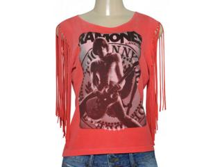 T-shirt Feminino Cavalera Clothing 09.02.2429 Vermelho - Tamanho Médio