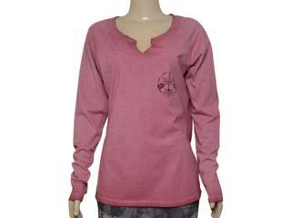 T-shirt Feminino Cavalera Clothing 09.02.2502 Bordo - Tamanho Médio