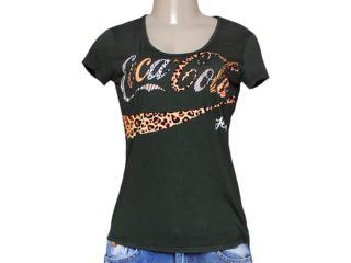 T-shirt Feminino Coca-cola Clothing 343201249 Verde - Tamanho Médio