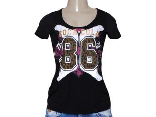 T-shirt Feminino Coca-cola Clothing 343201231 Preto - Tamanho Médio