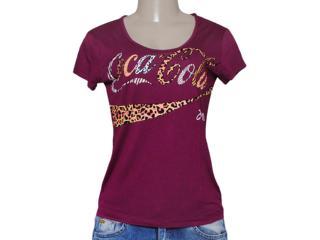 T-shirt Feminino Coca-cola Clothing 343201249 Roxo - Tamanho Médio