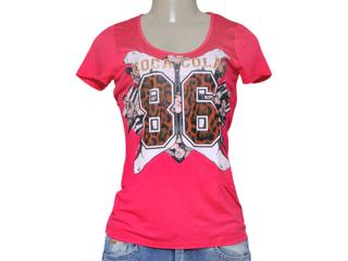 T-shirt Feminino Coca-cola Clothing 343201231 Pink - Tamanho Médio