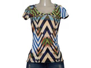 T-shirt Feminino Coca-cola Clothing 343201329 Estampado - Tamanho Médio
