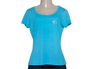 T-shirt Feminino Coca-cola Clothing 343201423 Azul - Tamanho Médio