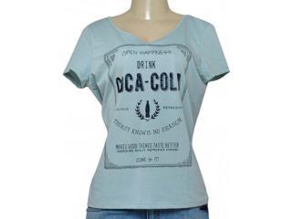 T-shirt Feminino Coca-cola Clothing 343201613 Verde - Tamanho Médio