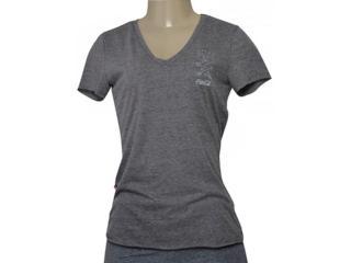 T-shirt Feminino Coca-cola Clothing 343202026 Cinza - Tamanho Médio