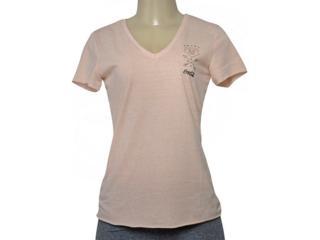 T-shirt Feminino Coca-cola Clothing 343202026 Bege - Tamanho Médio