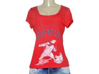 T-shirt Feminino Coca-cola Clothing 343201656 Vermelho - Tamanho Médio