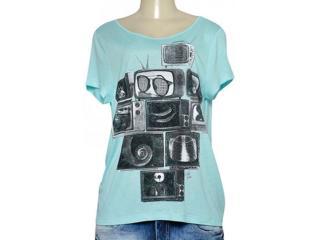 T-shirt Feminino Coca-cola Clothing 345800006 Verde - Tamanho Médio