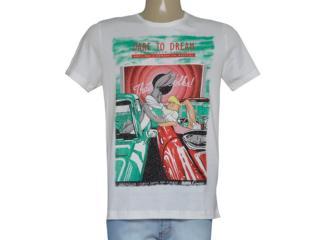T-shirt Feminino Coca-cola Clothing 345600081 Areia - Tamanho Médio