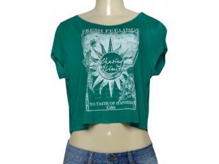 T-shirt Feminino Coca-cola Clothing 343201642 Verde - Tamanho Médio