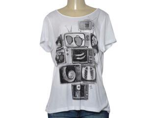 T-shirt Feminino Coca-cola Clothing 345800006 Branco - Tamanho Médio