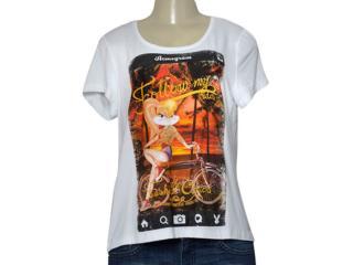 T-shirt Feminino Coca-cola Clothing 345600099 Branco - Tamanho Médio