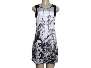 T-shirt Feminino Dopping 018058603 Branco/preto - Tamanho Médio