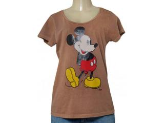 T-shirt Feminino Ellus 44d1536 Tabaco - Tamanho Médio