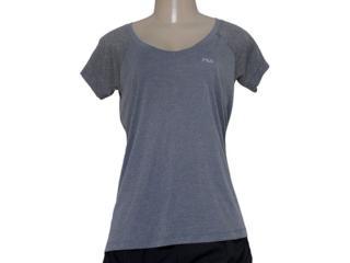 T-shirt Feminino Fila R102152 Match Mescla - Tamanho Médio
