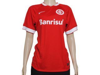 T-shirt Feminino Inter 619213-612 Sci ss Home Stadium Jsy Vermelho/branco - Tamanho Médio