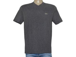 T-shirt Masculino Lacoste Th4085 21 Chumbo - Tamanho Médio