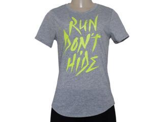 T-shirt Feminino Nike 684029-063 Run p Run Dont Hide Tee  Mescla - Tamanho Médio