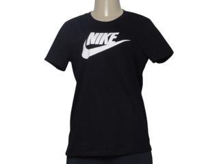 T-shirt Feminino Nike Bv6169-010 Sportswear Preto - Tamanho Médio