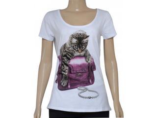 T-shirt Feminino Triton 341400828 Branco - Tamanho Médio