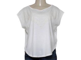 T-shirt Feminino Triton 341401036 Off White - Tamanho Médio