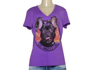 T-shirt Feminino Triton 341401164 Roxo - Tamanho Médio