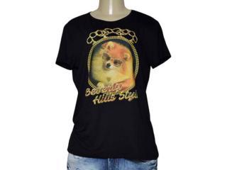 T-shirt Feminino Triton 341401185 Preto - Tamanho Médio