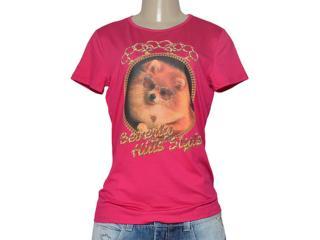 T-shirt Feminino Triton 341401185 Pink - Tamanho Médio