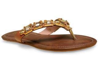 Tamanco Feminino Camelia 219 Dourado - Tamanho Médio