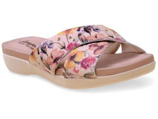 Tamanco Feminino Campesi 5214 Floral - Tamanho Médio