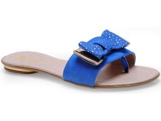 Tamanco Feminino Fiorentino 112 Azul - Tamanho Médio