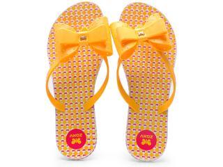 Chinelo Feminino Grendene 16656 Zaxy Fresh Amarelo - Tamanho Médio